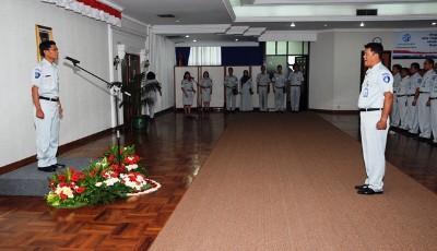 Upacara HUT (Hari Ulang Tahun) RI Ke- 66 di Kantor Pusat Jasa Raharja