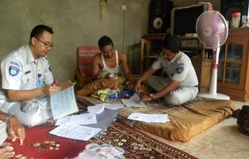 Jasa Raharja Muara Bungo Melakukan Pembayaran Santunan di Rumah Korban