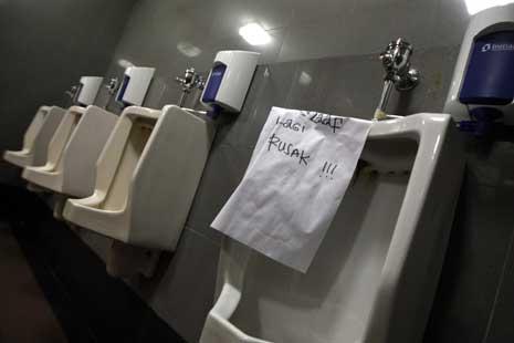 Gambar Toilet Anggota DPR yang akan Direnovasi