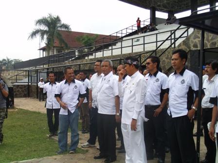 Camp Alternatif Timnas, Stadion Purnawarman Dikunjungi Ketua Umum PSSI