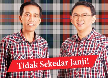 Profil dan Visi Misi Gubernur DKI Jakarta Jokowi & Wakil Gubernur Basuki
