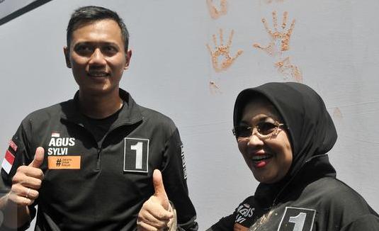 Timses : Hadapi Debat, Agus Yudhoyono dan Sylviana Tetap Gerilya Lapangan