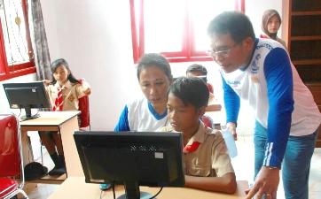 Bakti PT. Telkom Untuk Dunia Pendidikan Indonesia, Sambut Hardiknas