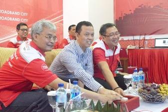 Hadirkan Kualitas Layanan ICT Yang Lebih Prima, PT. Telkom Jadikan Sukabumi Kota Pertama 100% Fiber Optik