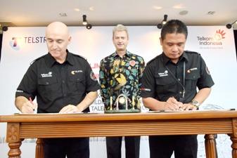 TelkomGroup & Telstra Sepakati Kerjasama Talent Exchange Pilot