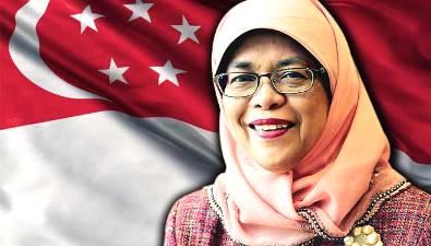 Halimah Yacob, Mantan Penjual Nasi Padang itu Kini Presiden Singapura