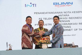Telkom dan PT INTI Bersinergi Garap Layanan Internet of Things Devices