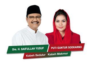 Gus Ipul- Puti Guntur Soekarno Daftar Pilgub Jawa Timur Malam Nanti