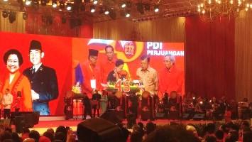 Di HUT Ke-45 PDI Perjuangan, Jokowi : Dirgahayu Partainya Wong Cilik