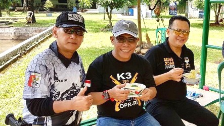 Ketua DPR Bamsoet Cerita Soal Klub Menembak Komisi III dan Ritualnya