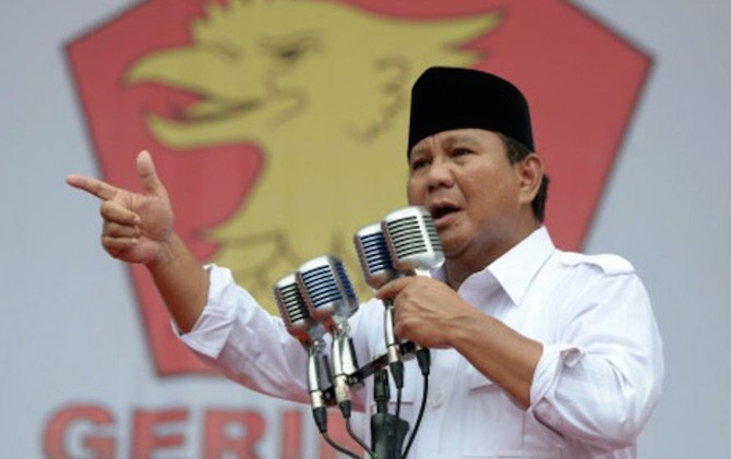 Partai Gerindra Secara Resmi Usung Prabowo Subianto Jadi Capres 2019
