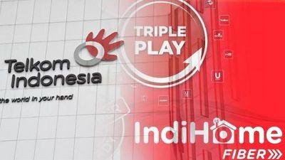 IndiHome PT. Telkom Indonesia Sudah Menembus 4 Juta Pelanggan