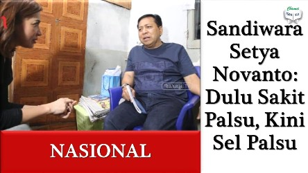 Sel Palsu Setya Novanto Terungkap, Komisi III DPR Minta Dirjen PAS Dicopot