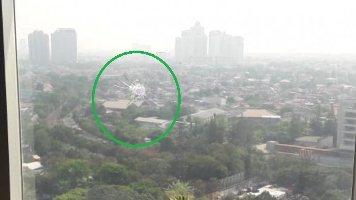 Tembus Lantai 16, Peluru Nyasar ke Gedung DPR- Senayan Kaliber 9 mm