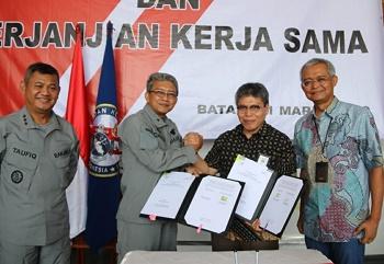 Bakamla Dukung PT. Telkom Amankan Sistem Komunikasi Kabel Laut (SKKL)