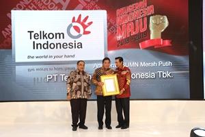 PT. Telkom Dapat Anugerah Indonesia Maju 2018- 2019, Sebuah Apresiasi Atas Capaian dan Kerja Keras
