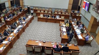 Komisi III DPR RI Gelar Rapat Bersama Komisi Pemberantasan Korupsi