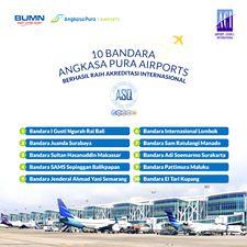 10 Bandara Angkasa Pura 1 Raih Akreditasi Pelayanan Bandara Dunia