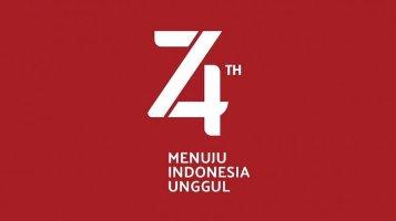 Pelajar Sidoarjo- Jawa Timur Gelar Upacara HUT RI ke- 74 di Pond Lumpur