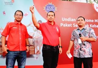 PT. Telkom Umumkan 125 Pemenang Undian IndiHome Miliarder Paket Semarak Kebahagiaan Tahap 1